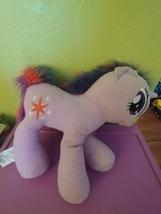 "My Little Pony Twilight Sparkle Jumbo Plush Purple Unicorn by Hasbro 17"" Tall  - $13.50"
