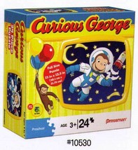 Curious George In Space 24 Pc Puzzle - $15.79