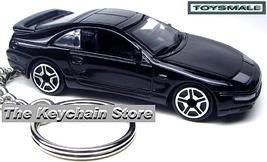 RARE KEY CHAIN BLACK NISSAN 300ZX KEYRING 300 ZX NEW KEY CHAIN RING - $59.95