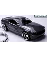 KEY CHAIN 2007~2008~2009~2010 BLACK FORD MUSTANG GT NEW PORTE CLE LLAVERO БРЕ - $34.98