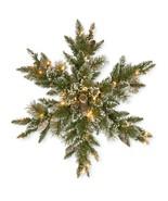 National Tree Company Pre-lit Artificial Christmas Star Shaped Wreath | ... - $79.41