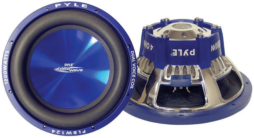 Hot Sale! 26.95 Pyle PLBW84 Blue Wave 8-Inch 600-Watt High-powered Subwoofer