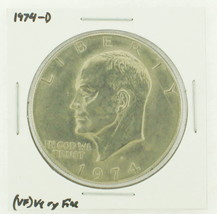 1974-D Eisenhower Dollar RATING: (VF) Very Fine N2-3468-11 - £2.37 GBP