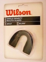 WILSON Adult Mouthguard Black No Strap - $3.05