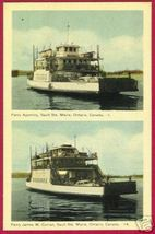 SOO ONTARIO Car Ferry Agoming James W Curran Ship - $10.00