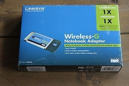Linksys Wireless-G Notebook Adapter (WPC54G) NEW IN BOX - $24.75