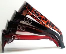 Large Womens Designer Sunglasses Smoked Gradient Lenses Retro - $8.98