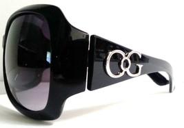Large Womens Designer Sunglasses Square Frame Smoked Gradient Lenses - $8.98
