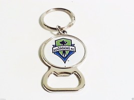 Seattle Sounders FC Bottle Beer Opener Keychain