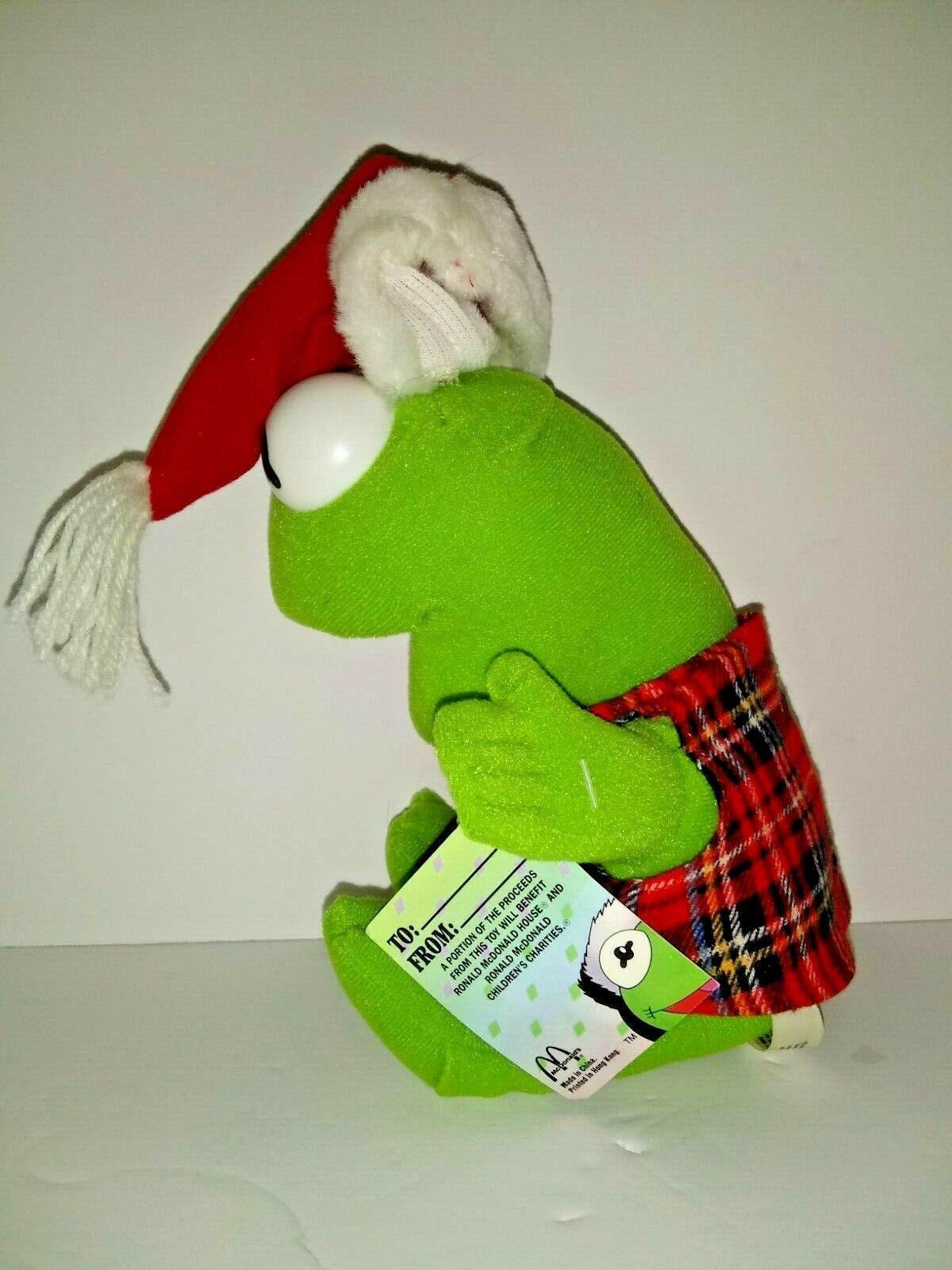 Vintage McDonalds Baby Miss Piggy Baby Kermit Plush Dolls Muppet Babies 1987