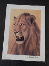 """Andrew Bone Seriolithograph -""""Young Warrior"""" with certificate of authent... - $16.00"""