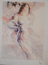 """Peter Nixon Seriolithograph  - """"Memories of Florence I"""" w/ cert authenti... - $16.00"""