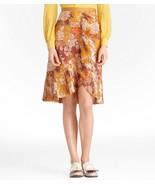 TORY BURCH Womens Silk Golden Yellow Elodie Opalina Lame Plaid Chiffon S... - $103.99