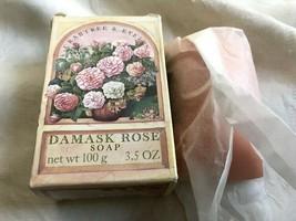 Crabtree & Evelyn Damask Rose Bar Soap 3.5 Oz - $24.99