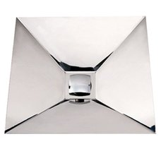 Whitehaus WHNCMB002-SS Noah'S Collection 16 3/4-Inch Wall Mount Square S... - $608.85