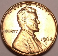 United States Unc 1962-D Lincoln Memorial Cent~Free Shipping - $2.15