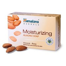 Himalaya Moisturizing Almond Soap 125g [Health and Beauty] - $2.96