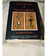Handicrafts of New England Bonanza Allen H. Eaton 1950s Reprint Edition - $15.00