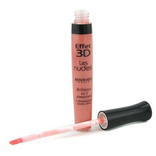 Primary image for Bourjois Effet 3D Les Nudes Lipgloss # 35 Nude Egeric Full SIze Sealed