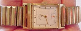 Men's 14K gold filled Lord Elgin 559 Wristwatch... - $85.09