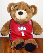 Build a Bear Stuffed Plush NBA 1 Teddy Bear Sports Jersey Basketball - $25.25