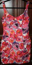 Nanette Lepore Floral Couture Sun Dress Shift Women's Size 2 Sleeveless ... - $87.44 CAD