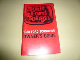 1980 Ford Econoline Owner's Guide Vintage - Glove Box - $7.84