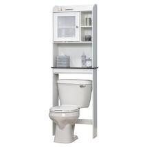 Bathroom Organizer Decorative Furniture Toilet Cabinet Storage Shelves A... - $99.99