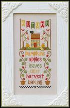 Autumn Seasonal Celebrations cross stitch chart Country Cottage Needleworks - $7.20