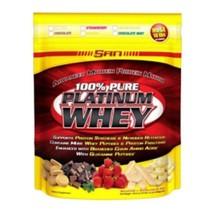 SAN 100% Pure Platinum Whey, 10.2 lb Vanilla - $229.00