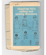 Vintage 1960s Simplicity 7974 Misses and Mens Apron and Potholder Sewing... - $9.99