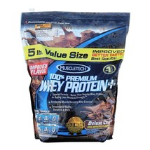 MuscleTech 100% Premium Whey Protein +, 5 lb Chocolate - $139.00