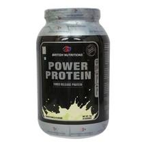 British Nutritions Power Protein, 2.2 lb Vanilla - $59.00