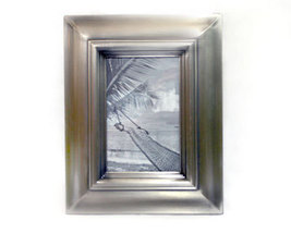 Pewter Metal 4x6 Picture Frame - $10.00