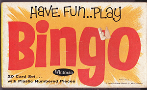 Primary image for Vintage Whitman Bingo Board Games