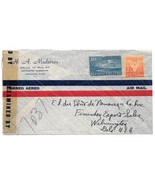 WWII Censored Cuba 30777 Advertising Cover Marianao Air Mail to US HA Me... - ₨365.97 INR