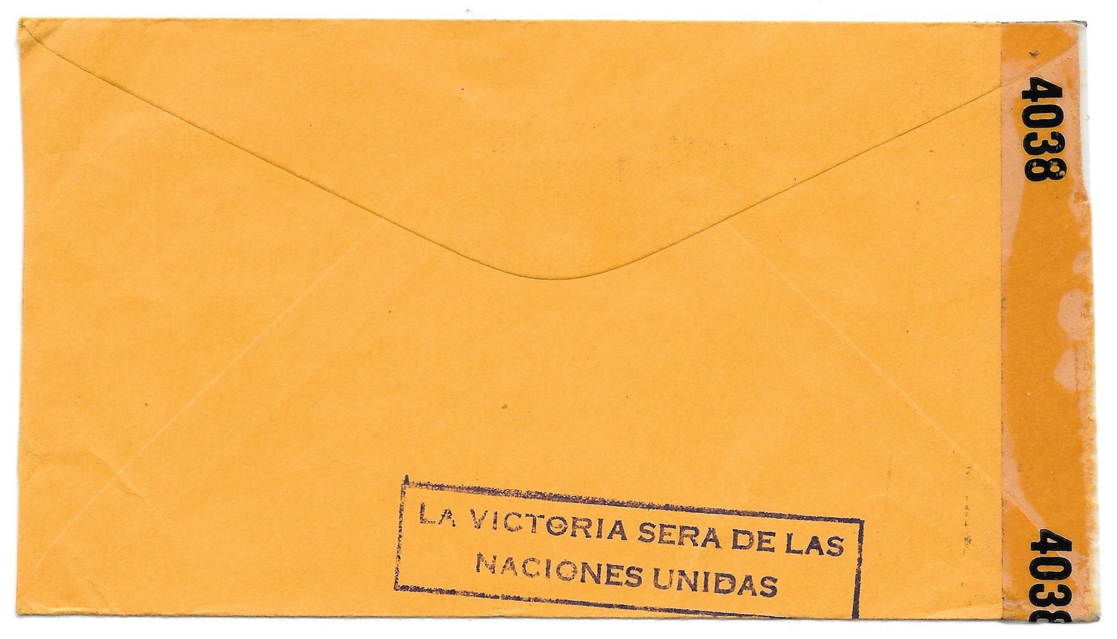 WWII Censored Cuba Official Free Mail Cover Matzanzas to US 1943 Cigar Slogan
