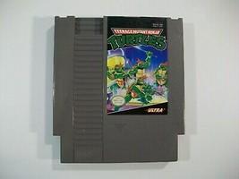VINTAGE NINTENDO NES TEENAGE MUTANT NINJA TURTLES GAME CARTRIDGE TESTED ... - $13.67