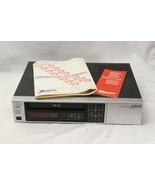 Vintage Zenith VCR VR180 Videocassette Recorder Player VHS Tested Guaran... - $73.50