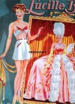 VINTAGE UNCUT 1945 PIN-UP GIRLS//ARTIST MODELS PAPER DOLLS~#1 REPRODUCTION~SCARCE