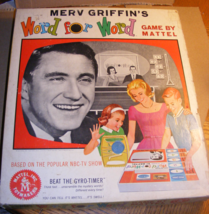 1963 Merv Griffin's Word for Word Game - $45.00