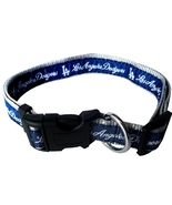 LA Dodgers Adjustable Nylon Dog Collar by Pets ... - $10.25