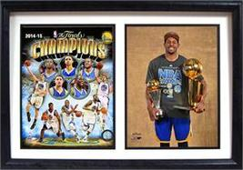2015 NBA Champions Golden State Warriors: 12x18 Double Frame - $69.99