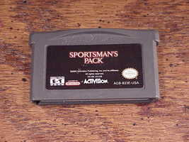 Game Boy Advance Sportsman's Pack Game Cartridge, Hunting and Fishing, tested - $6.95