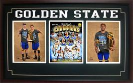 2015 NBA Champions Golden State Warriors: 15x35 Three Photo Frame - $109.00