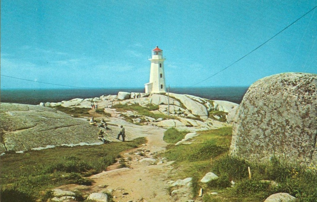 Canada, The Lighthouse, Peggy's Cove, Nova Scotia, unused Postcard