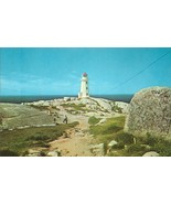 Canada, The Lighthouse, Peggy's Cove, Nova Scotia, unused Postcard  - $5.99