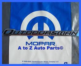 New 2011 2015 Dodge Ram Chrome Outdoorsman Tailgate Emblem,Nameplate,Oem Mopar - $44.95