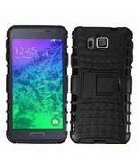 Armor Hybrid Rugged Impact Case For Samsung Galaxy Alpha - $9.99