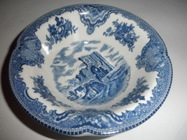 6 inch bowl denlrgh castle in 1792 by johnson bros of england - $14.95